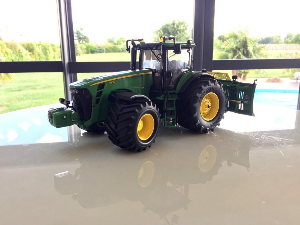 Modification Tracteur John Deere 8530 Pneus Bp Le Forum Gtp