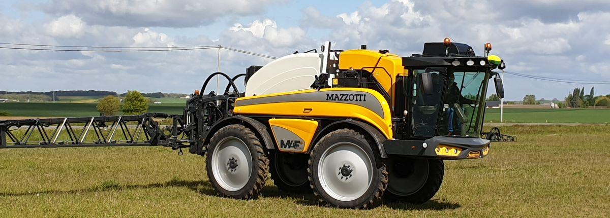 Mazzotti: les pulvérisateurs automoteurs MAF intègrent davantage de composants John Deere