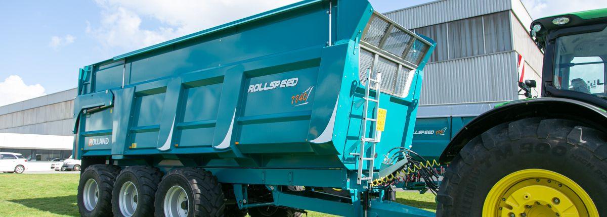 Rolland: des rehausses hydrauliques sur la benne Rollspeed 7840