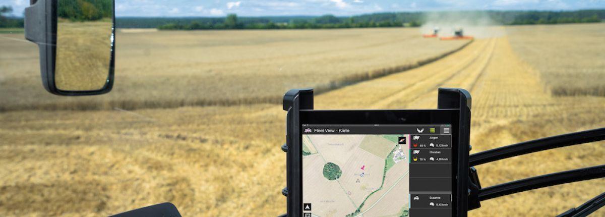 Un iPad pour piloter les machines et documenter les chantiers.