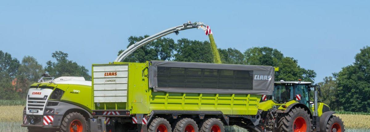 Claas: les autochargeuses et remorques Cargos gagnent en équipements