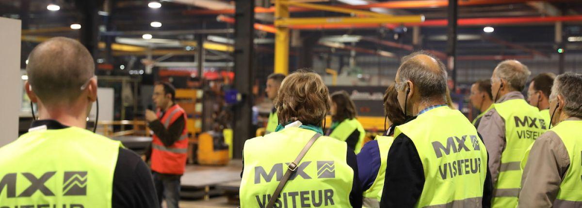 Venez visiter l'usine MX lors des MX User Days