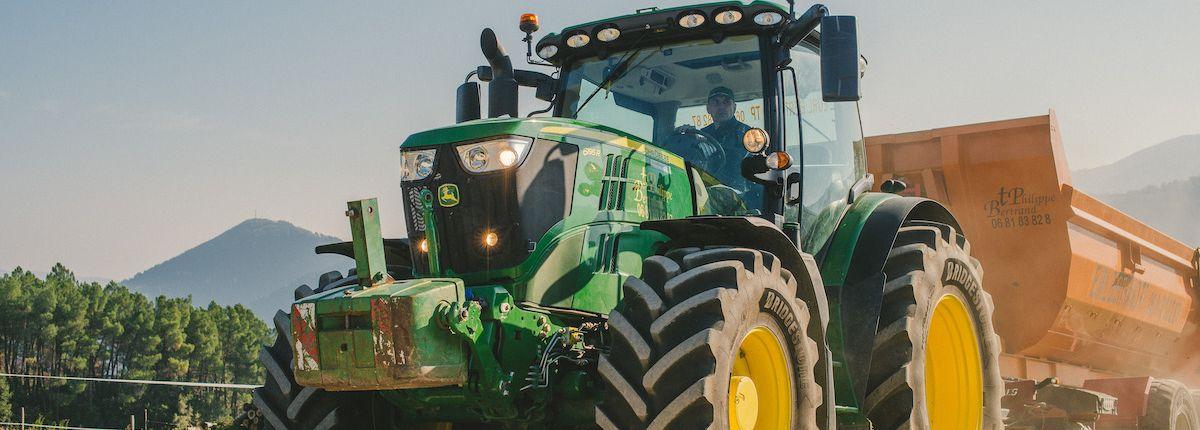 Bridgestone garantit 20% d'heures en plus avec les VX Tractor