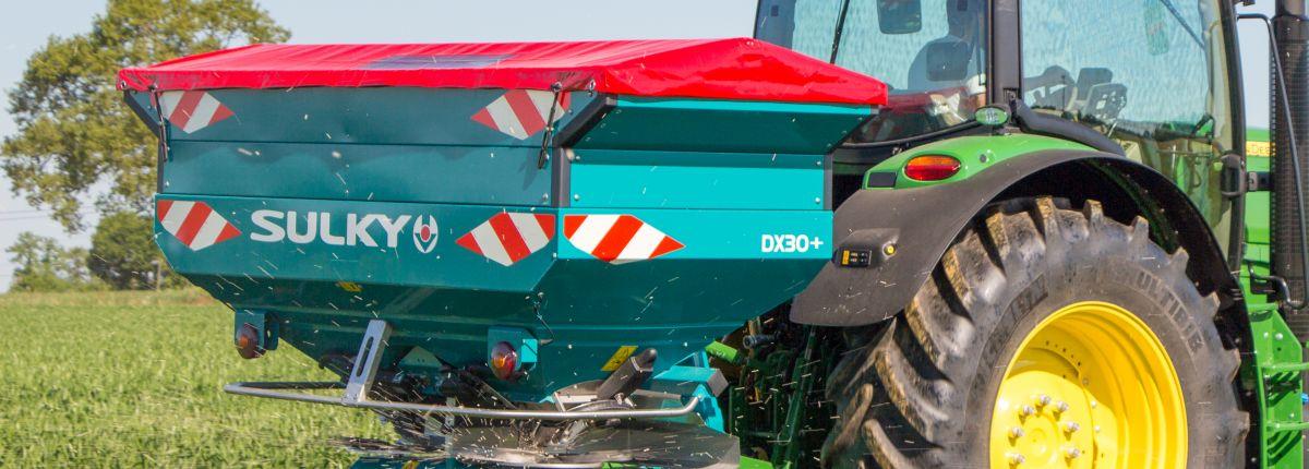 Sulky : l'épandeur d'engrais DX W-Control accueille l'Isobus.