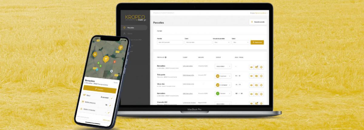 Une application conçue pour les marchands de paille