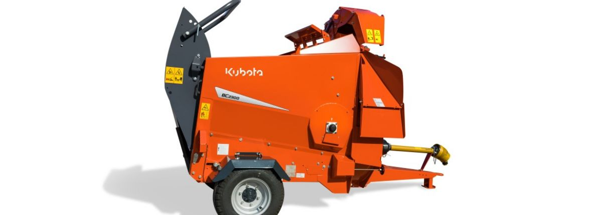 Kubota: la pailleuse BC2300 gagne en capacité
