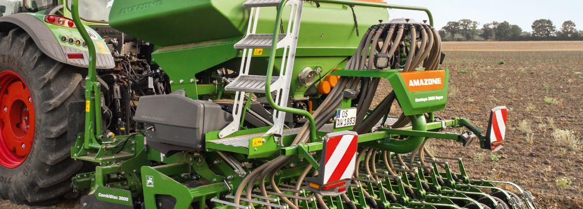 Le semoir pneumatique Centaya décliné en 3,50 m et 4 m