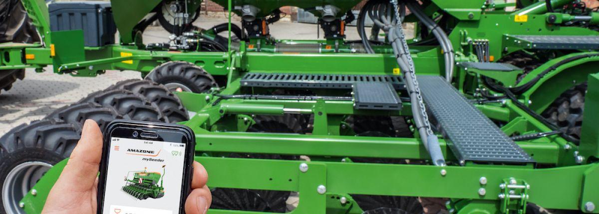 2 applications pour régler les semoirs et épandeurs d'engrais