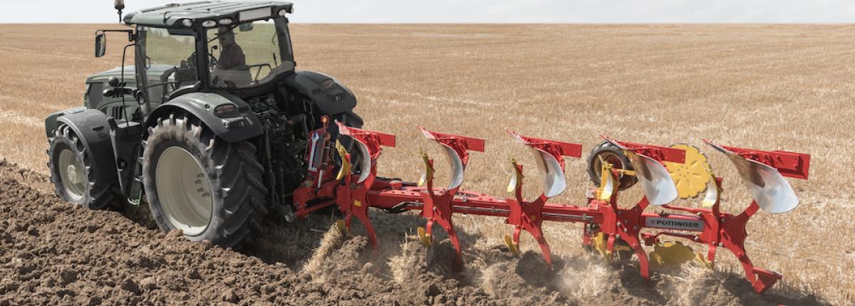 La Servo 45M s'adapte aux tracteurs de 140 à 240 ch.