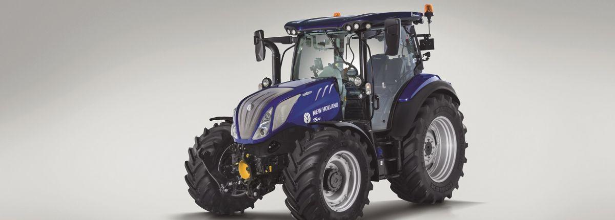 New Holland lance la gamme T5 Auto Command avec 4 modèles. © New Holland