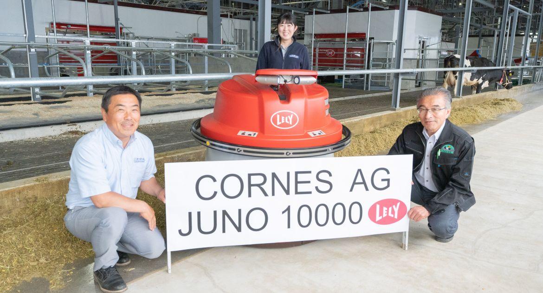 Le 10 000ème Lely Juno vendu au Japon
