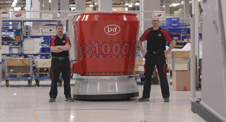 Lely: 10 ans du robot d'alimentation Vector et 1 000 exemplaires produits