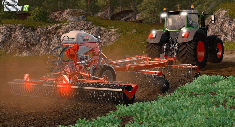Video Des Outils Kuhn Dans Farming Simulator 17