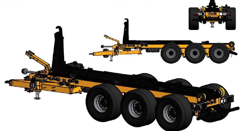 Rolland : un nouveau porte-caissons haute capacité
