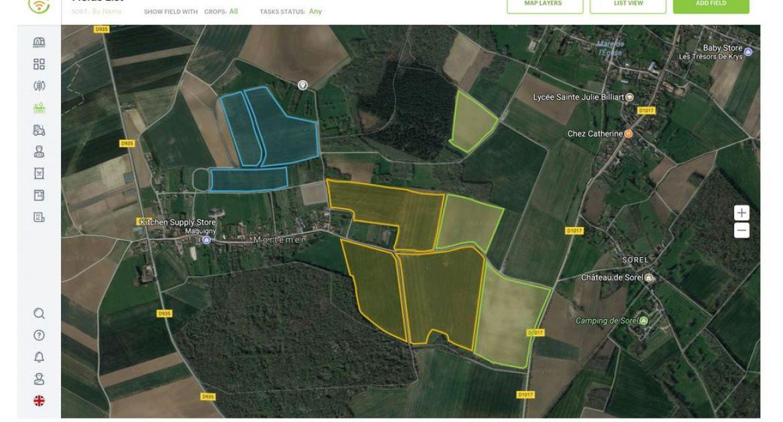 MyEasyFarm: une connexion avec le logiciel de gestion parcellaire Smag Farmer
