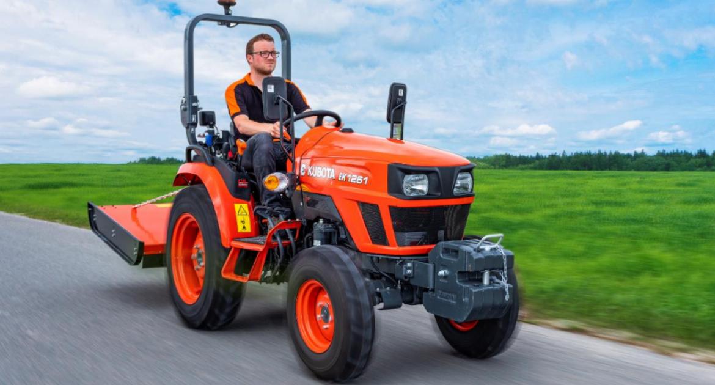 Kubota: une nouvelle série de tracteurs compacts