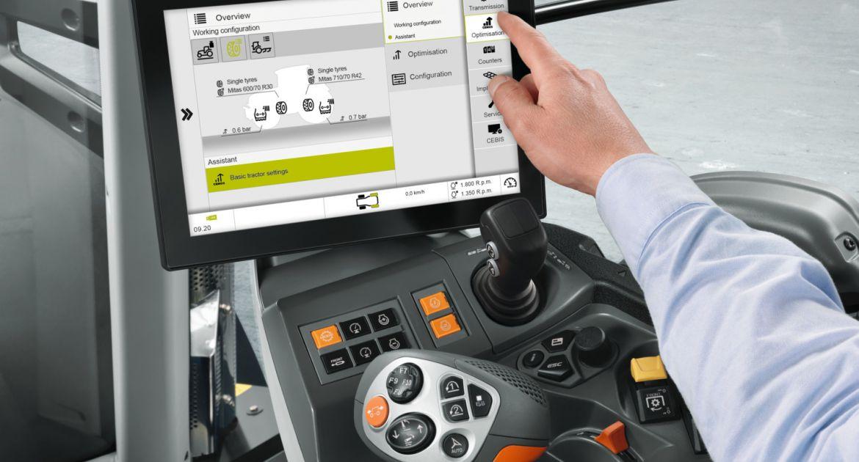 Claas: le système d'assistance Cemos débarque sur les tracteurs