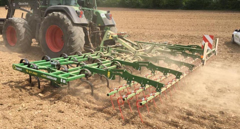 Franquet:outil de scalpage et de préparation du lit de semence au programme des nouveautés 2021