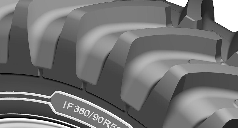 Michelin: des pneus IF pour les pulvérisateurs et les cultures en ligne.