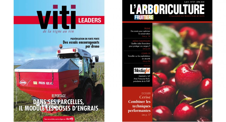 Les numéros d'avril de vos magazines disponibles gratuitement en version numérique