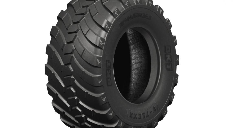 Un pneu VF conçu pour les remorques agricoles