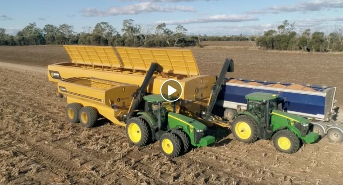La nouvelle Mother Bin 200 tonnes de Coolamon