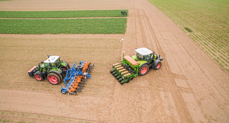 Des lignes de semis permanentes avec le CRF