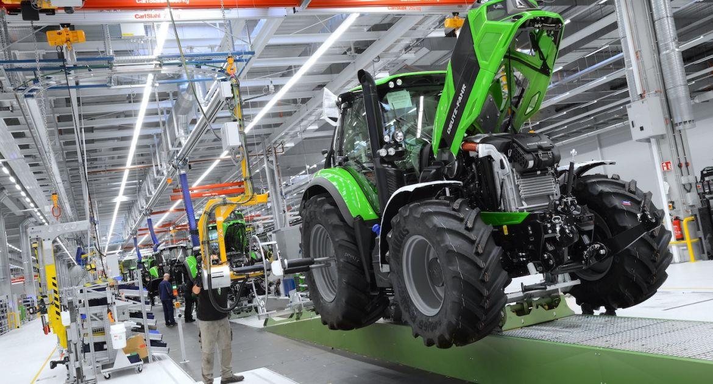 L'usine « Deutz Fahr Land » produit désormais des tracteurs de 120 à 340 chevaux
