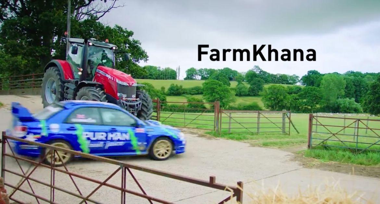 Farmkhana avec Massey Ferguson et Subaru