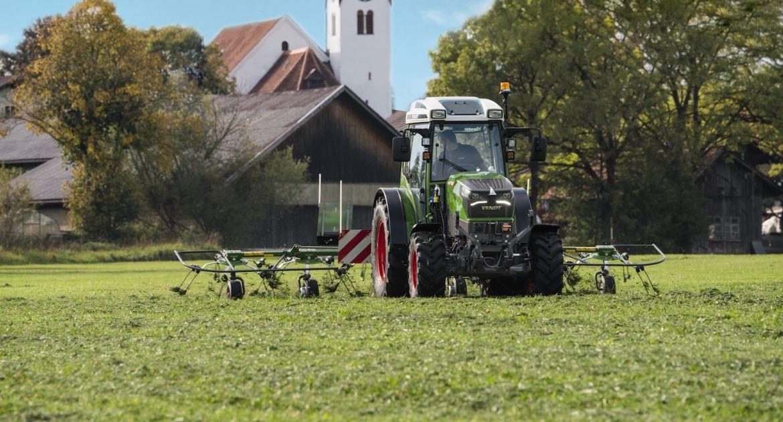 Le développement du tracteur électrique e100 avance bien