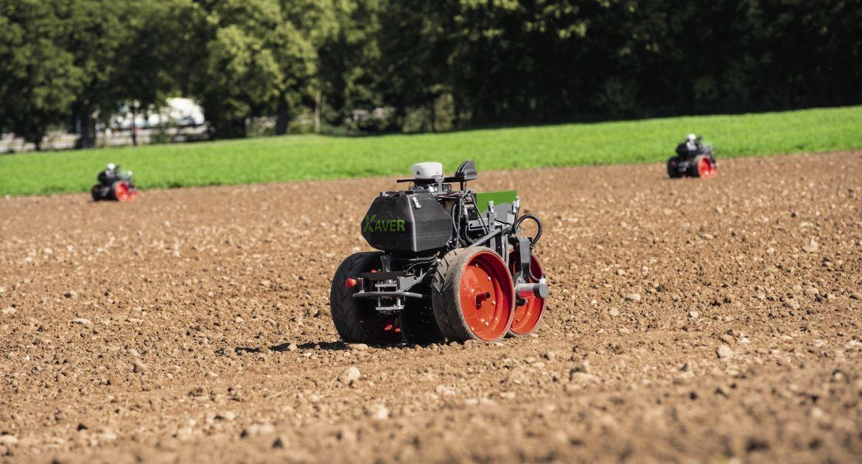 Le semoir robotisé Xaver embarque une unité de semis de Precision Planting.