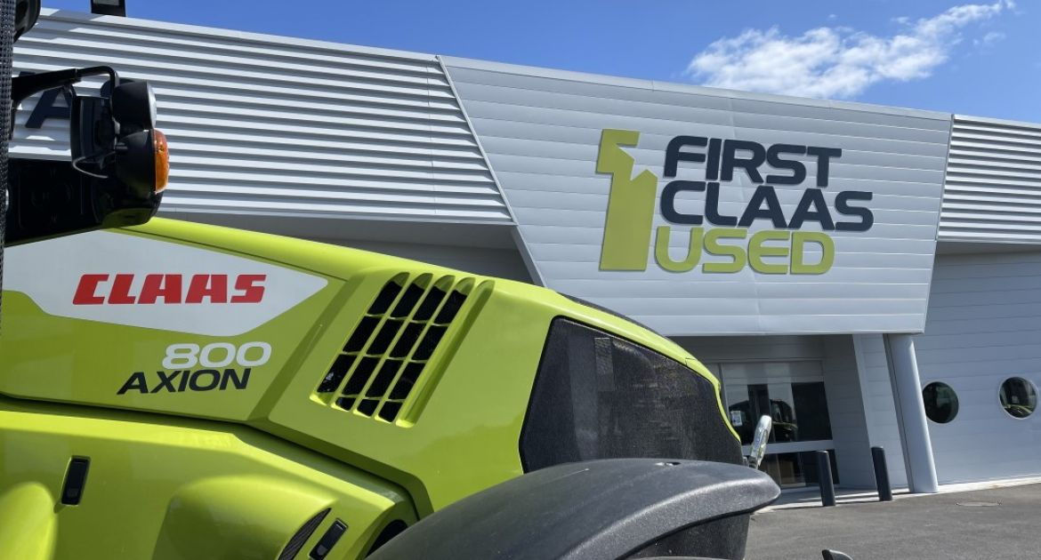 Le 1er site First Claas Used et First Claas Rental mis en place en France