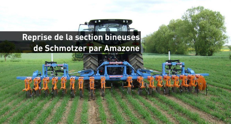 Amazone rachète la section de binage de Schmotzer. © Schmotzer