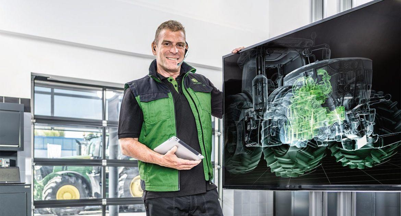 John Deere lance deux solutions pour anticiper les pannes des machines. © John Deere