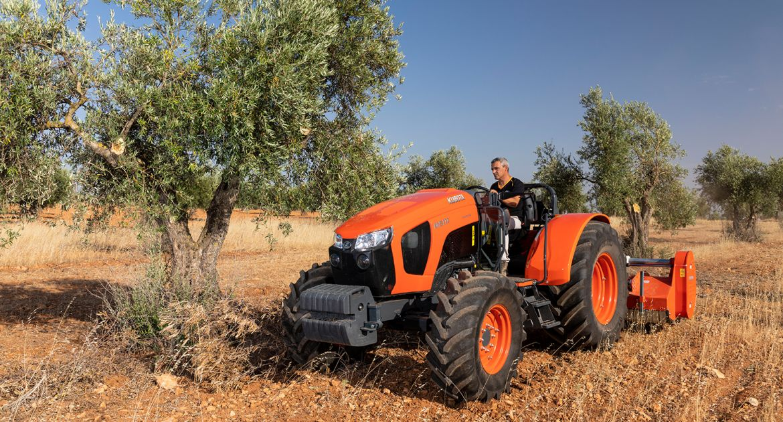 Kubota : un nouveau tracteur spécialisé dans la gamme M5001