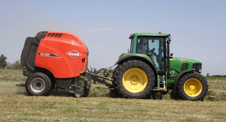Kuhn apporte des améliorations sur les modèles VB 3160 et 3190. © Kuhn