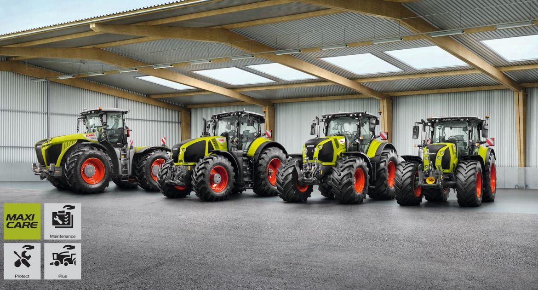 Une garantie jusqu'à 8 ans ou 8000 heures pour les tracteurs