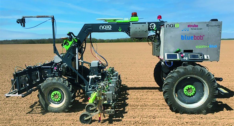 Un robot pour biner les betteraves