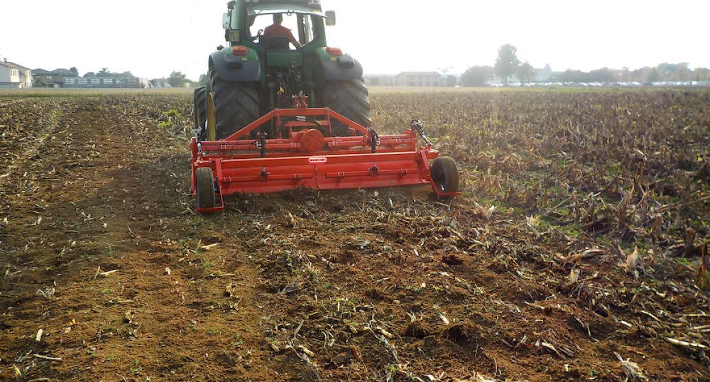 La fraise rotative SC Bio s'attaque à l'agriculture bio.