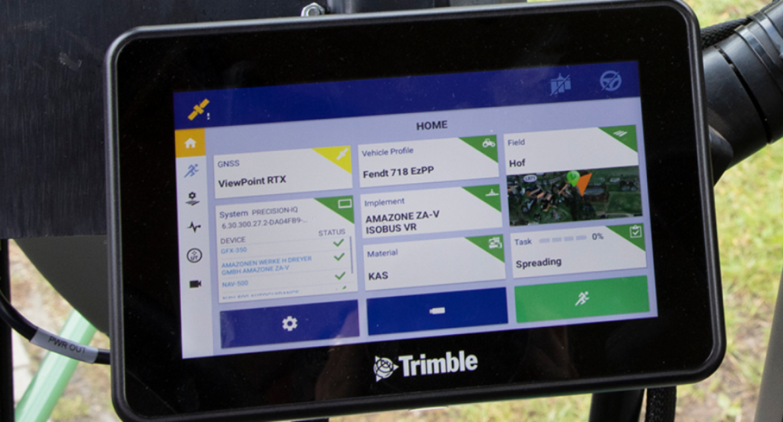 Trimble: une solution de guidage d'entrée de gamme.