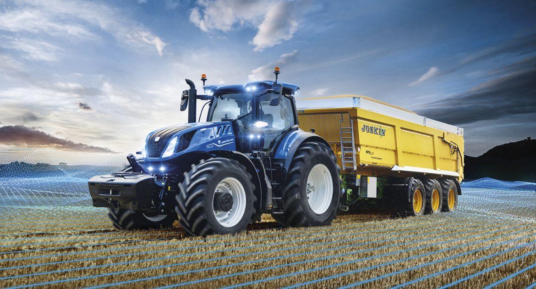 New Holland: Nouvelle cabine pour le T7 HD et davantage de connectivité