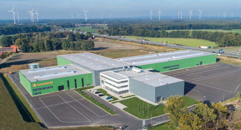 La nouvelle usine est situéé au nord d'Osnabrück, dans le nord-ouest de l'Allemagne. © Amazone