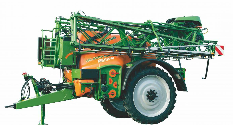 L'UX Spécial Médium dispose d'une capacité de 3 200 ou 4 200 litres. © Amazone