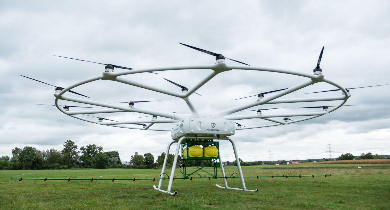 John Deere: un drone lourd pour l'agriculture