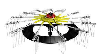 Pöttinger : un patin en lieu et place des roues de rotors.