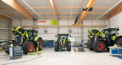 Claas: le constructeur augmente sa participation à E-Farm