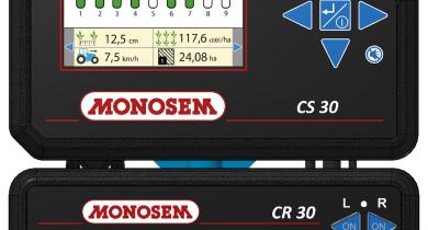 Le contrôleur de semis CS30 Premium vient compléter l'offre.