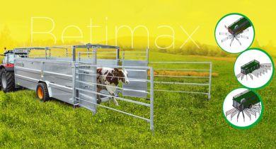 Confort et sécurité pour les nouvelles barrières de bétaillères Joskin Betimax.