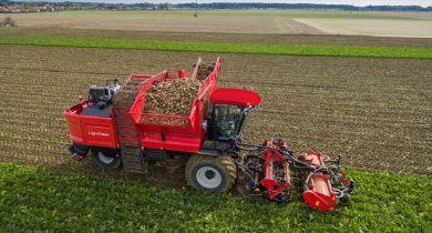 Agrifac: la marque revient aux arracheuses de betteraves
