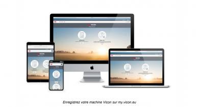 Vicon: accédez de partout aux informations de votre machine via la plateforme MyVicon